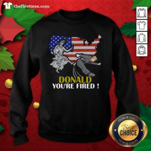 Colorful You're Fired Trump's Lost Biden Won 2020 Election President Sweatshirt - Design By Thefirsttees.com