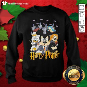 Nice Mickey Mouse And Friends Harry Potter Halloween Sweatshirt - Design By Thefirsttees.com