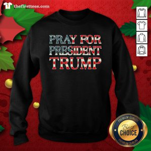 Official Pray For Trump Peace And Love 2020 Sweatshirt - Design By Thefirsttee.com