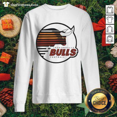 Jacksonville Bulls Football Sweatshirt - Design by Thefristtee.com