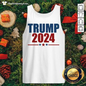 Grateful Trump 2024 Star Tank Top - Design By Thefirsttees.com