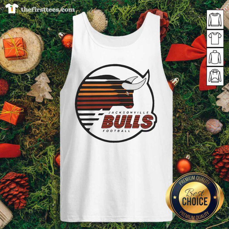 Jacksonville Bulls Football Tank Top - Design by Thefristtee.com