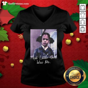 Nice Kamala Harris That Little Girl Was Me V-neck - Design By Thefirsttee.com