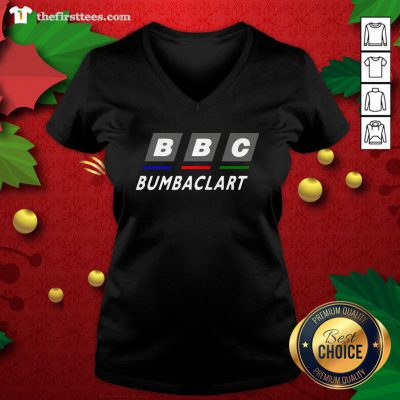 Colorful BBC Bumbaclart V-neck - Design By Thefirsttee.com