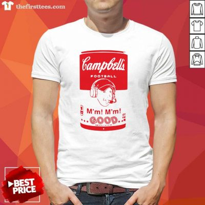 Campbells Football Soup Can Shirt - Design by Thefirsttees.com