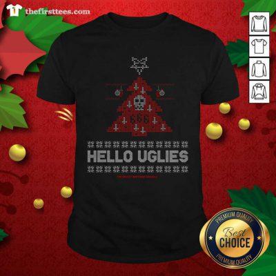 Hello Uglies Ugly Christmas Shirt - Design by Thefirsttees.com