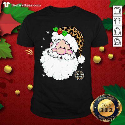 Santa Simply Southern Fa-la-la Ugly Christmas Shirt - Design by Thefirsttees.com