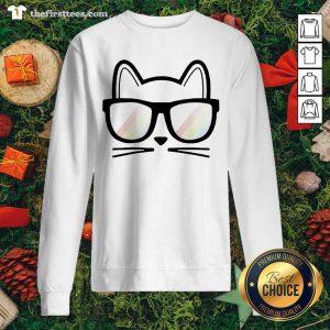 Cat Cute Lover Mom Dad Animal Handmade Sweatshirt - Design by Thefirsttees.com