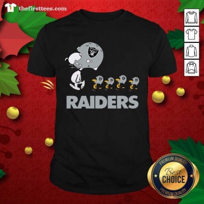 Snoopy And Woodstock Oakland Raiders Shirt - Design by Thefristtees.com