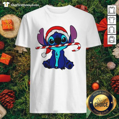 Stitch Wear Hat Santa Claus Merry Christmas Shirt - Design by Thefirsttees.com