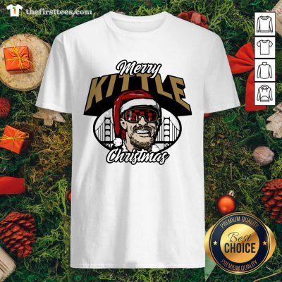 George Kittle Merry Kittle Christmas Shirt - Design by Thefirsttees.com
