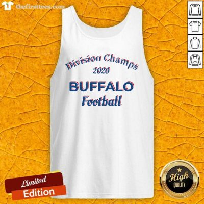 Division Champs 2020 Buffalo Bills Football Tank Top - Design by Thefirsttees.com