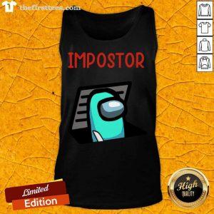 Impostor Among Game Us Idk Bro You Kinda Sus Tank Top- Design By Thefirsttees.com