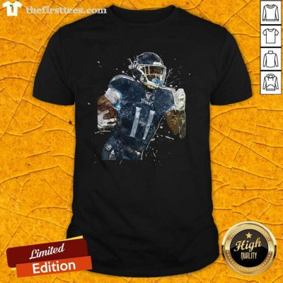 Tennessee Titans Football Player 11 NFL Playoffs ShirtAwesome Tennessee Titans Football Player 11 NFL Playoffs Shirt - Design by Thefirsttees.com