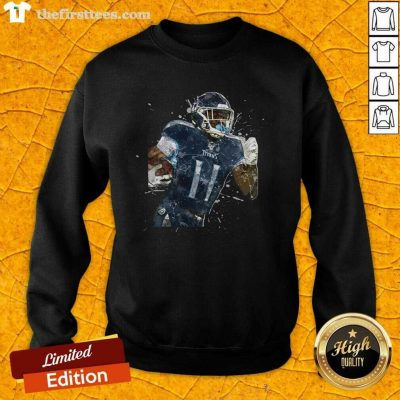 Tennessee Titans Football Player 11 NFL Playoffs Sweatshirt - Design by Thefirsttees.com