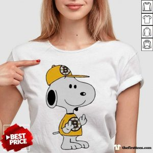 Snoopy Boston Bruins NHL Middle Fingers Fuck You V-neck- Design By Thefirsttees.com