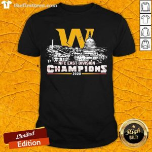 Washington Football Nfc East Division Champions 2020 Shirt- Design By Thefirsttees.com