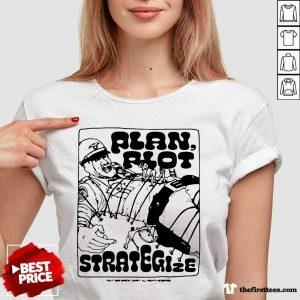 Premium Plan Riot Strategize V-neck- Design By Thefirsttees.com