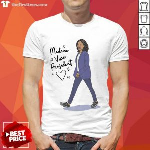 Kamala Harris Madame Vice President Shirt- Design By Thefirsttees.com