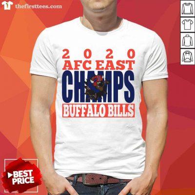 2020 Afc East Champs Buffalo Bills Football Shirt- Design By Thefirsttees.com