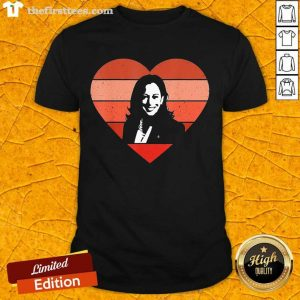Kamala Harris Inauguration Day 2021 Saint Valentine Heart Shirt- Design By Thefirsttees.com