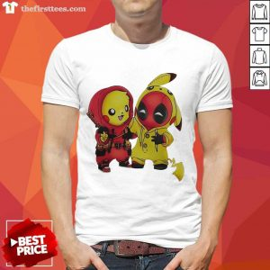 Pikapool Pikachu Pokemon And Deadpool 2021 Shirt- Design By Thefirsttees.com