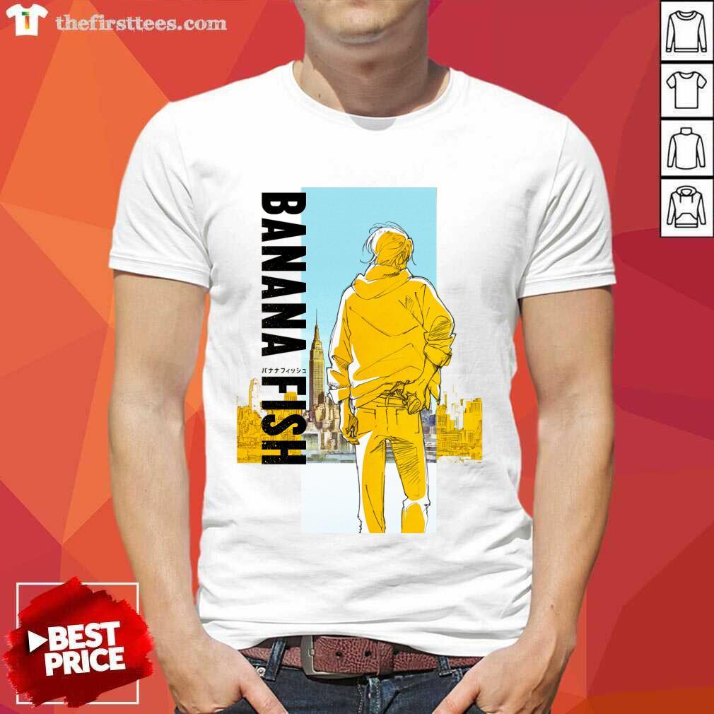 Delighted Banana And Fish 2021 Shirt