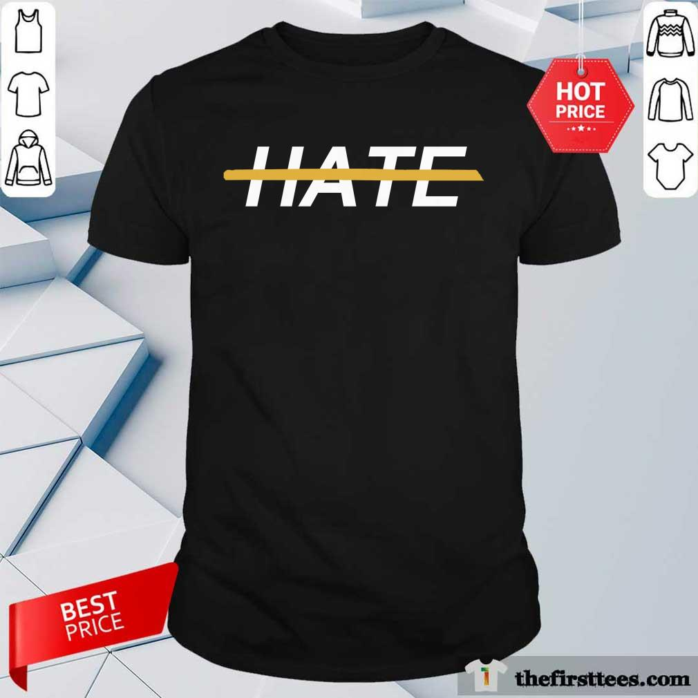 Delighted Top Stop Asian Hate Shirt