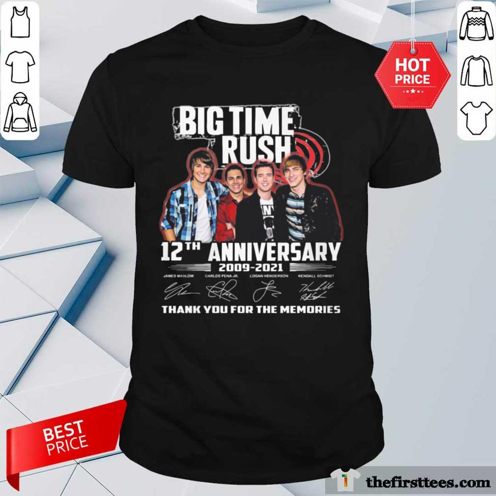 Hot 2009 2021 Signatures Thanks Shirt