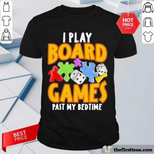 Autism I Play Board Games Past My Bedtime Shirt- Design By Thefirsttees.com