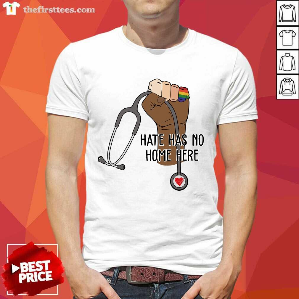 Awesome Hate Has No Home Here Shirt