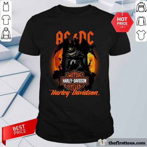 ACDC Harley Davidson Shirt