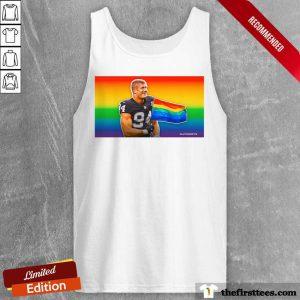 Carl Nassib LGBT Flag Tank Top