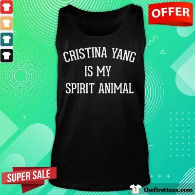 Cristina Yang Is My Spirit Animal Tank Top