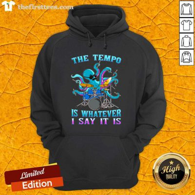 Drummer Octopus The Tempo Hoodie