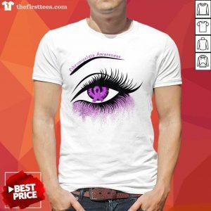 Hot Eyes Fibromyalgia Awareness Shirt