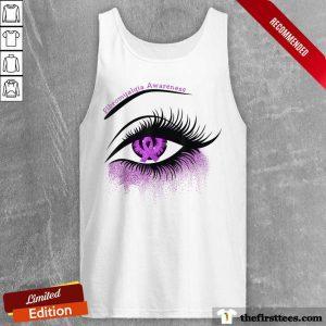 Hot Eyes Fibromyalgia Awareness Tank Top