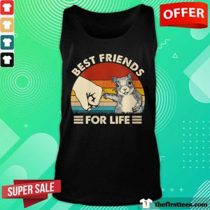 Hot Squirrel Best Friend For Life Vintage Tank Top