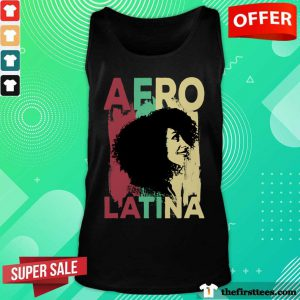 Nice Afro Latina Color Tank Top
