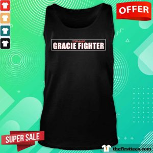 Nice Team Gracie Fighter Tank Top