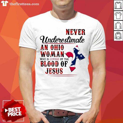Ohio Woman Blood Of Jesus Shirt