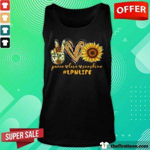 Peace Love Sunshine LPN Life Tank Top
