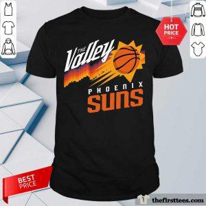 The Valley Phoenix Suns Baseball Shirt