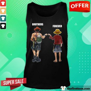 One Piece ACE And Luffy Brothers Forever Tank Top