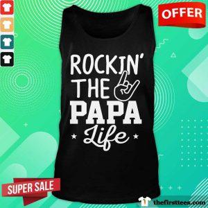 Rockin' The Papa Life Tank Top