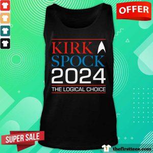Star Trek Kirk And Spock 2024 The Logical Choice Tank Top