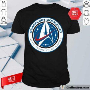 Star Trek Starfleet Command United Federation Of Planets Shirt