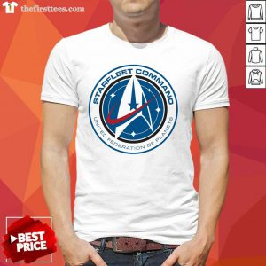Starfleet Command United Federation Of Planets Shirt