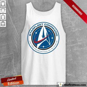 Starfleet Command United Federation Of Planets Tank Top