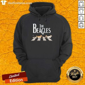 The Beagles Cross The Road Hoodie
